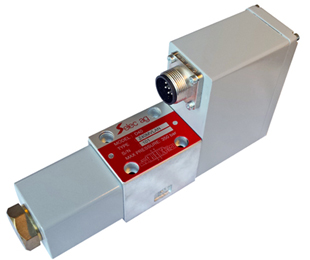 Proportional servo valve D40