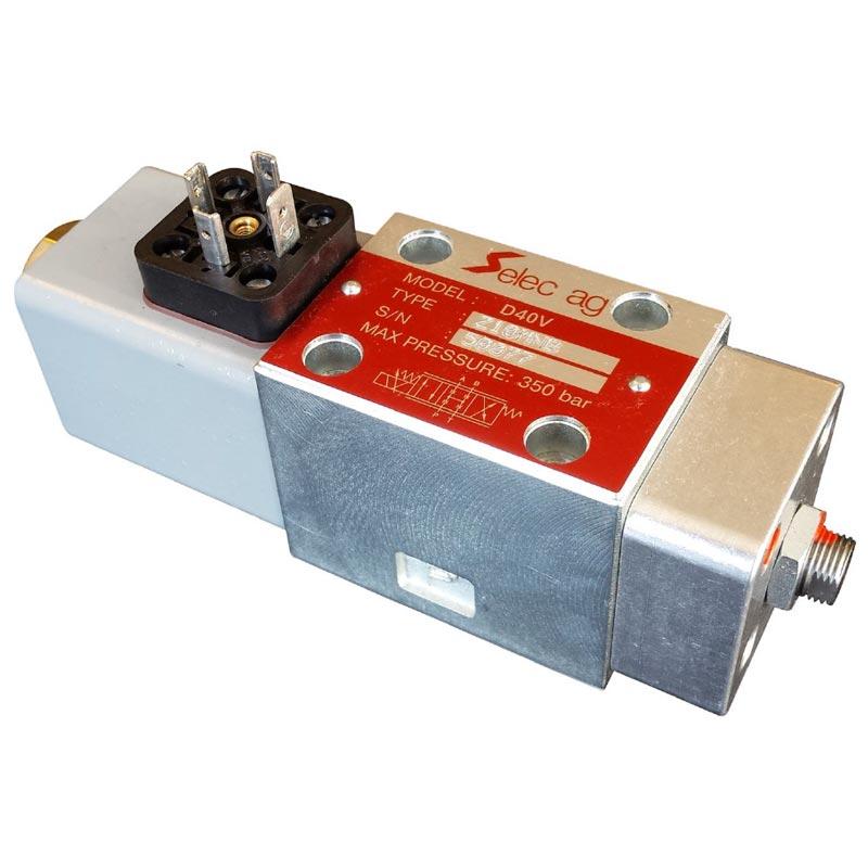Proportional servo valve D40V